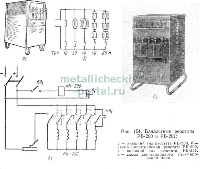 сварочного тока, схема