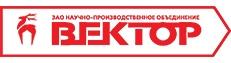 "Логотип компании ЗАО НПО ""Вектор"""