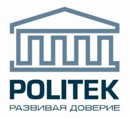 """Логотип компании ООО """"Политек"""""""