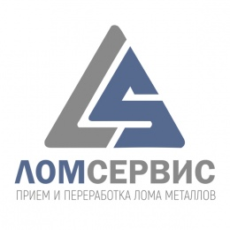 "Логотип компании ООО ""ЛомСервис"""