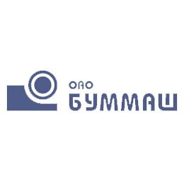 "Логотип компании ОАО ""Буммаш"""