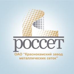 "Логотип компании ОАО ""Краснокамский завод металлических сеток"""