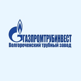 """Логотип компании ОАО """"Газпромтрубинвест"""" Волгореченский трубный завод"""
