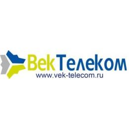 "Логотип компании ООО ""Век-Телеком"""