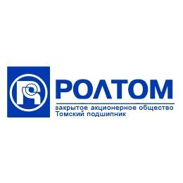 """Логотип компании ЗАО """"Томский подшипник"""""""