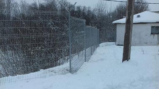 металлический сварной забор properimetr.ru