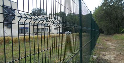 зеленый забор из сетки properimetr.ru