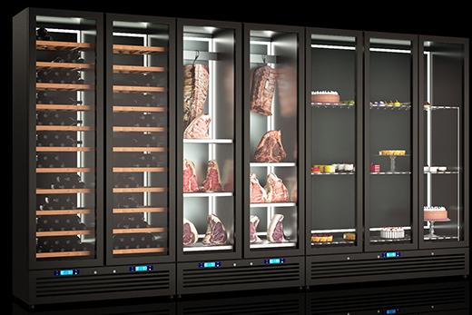 Холодильные шкафы для сухого созревания мяса