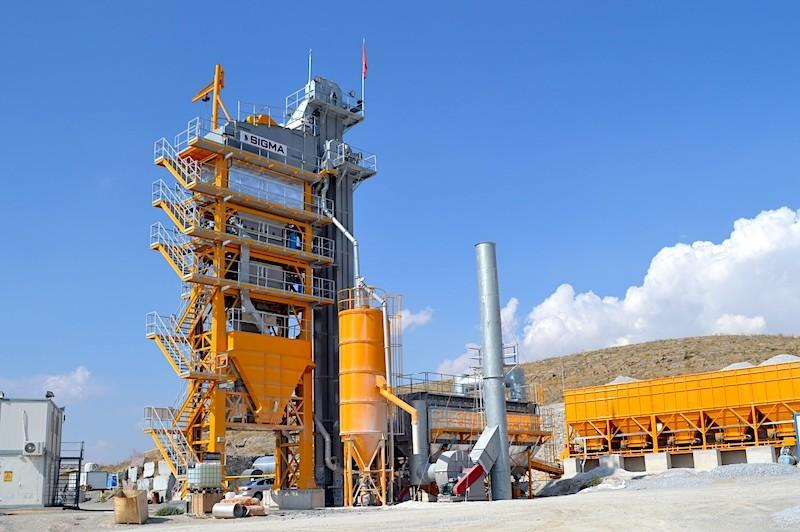 Турецкий асфальтобетонный завод