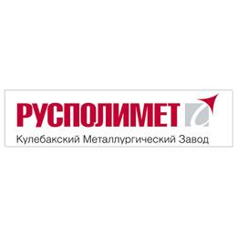 "Логотип компании ОАО ""РУСПОЛИМЕТ"""