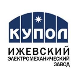 """Логотип компании ОАО """"Ижевский электромеханический завод """"Купол"""""""