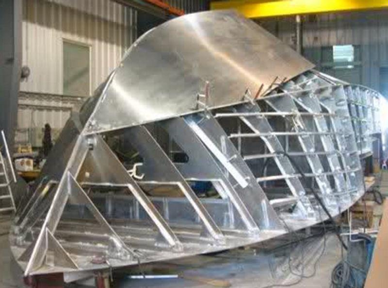 алюминиевые клепанные лодки своими руками