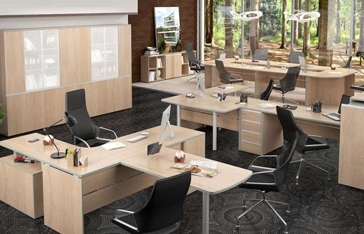 офисная мебель серии Вита