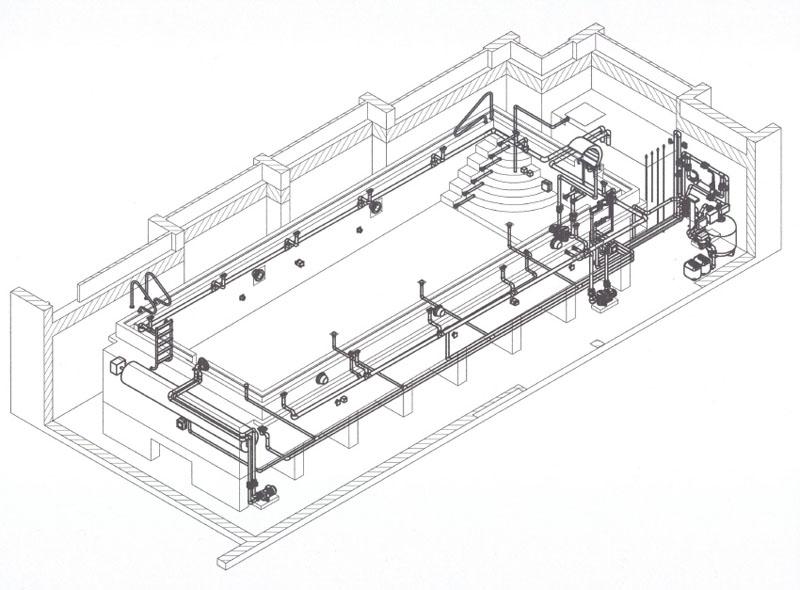 проектирование бассейна из бетона