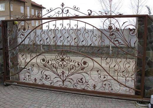 откатные ворота Кубинка