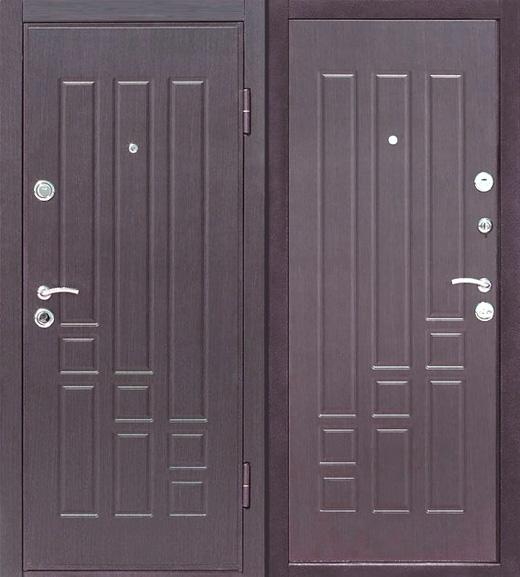 ремонт металлических дверей и обшивка МДФ