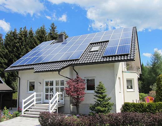 электроснабжение на солнечных батареях