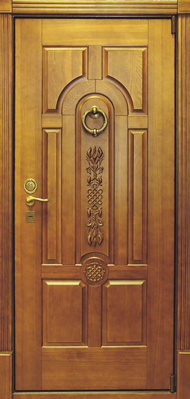 металлические двери фрезерованные
