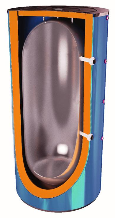 бак-аккумулятор для холодоснабжения