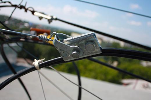 крепежная и линейная арматура для оптических кабелей