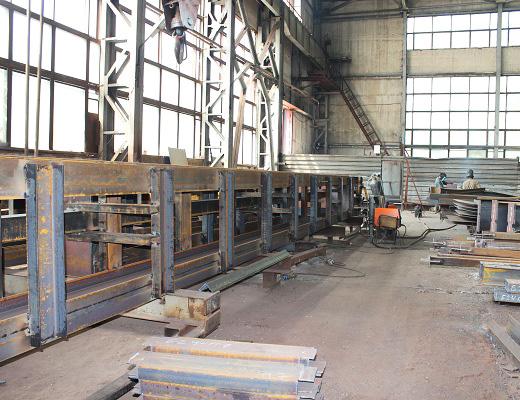 цех по производству легких металлоконструкций