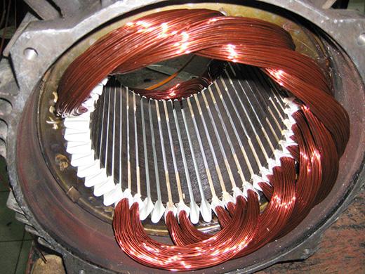 лом электродвигателей