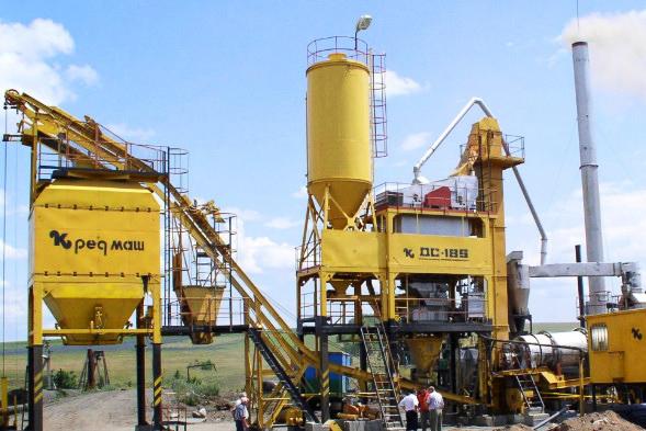 Асфальтосмесительная установка ДС-185 Kredmash