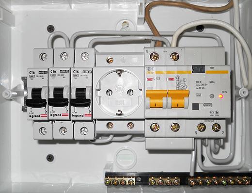 провести электрику в квартире