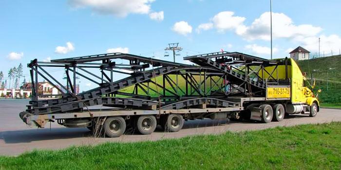 Особенности перевозки металлоконструкций