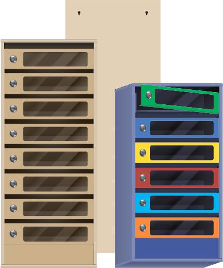 металлические почтовые ящики