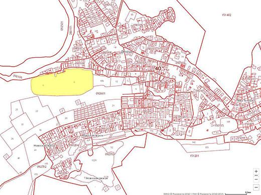 публичная кадастровая карта воронежской области