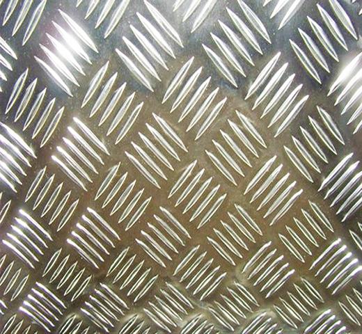 алюминий листовой рифленый