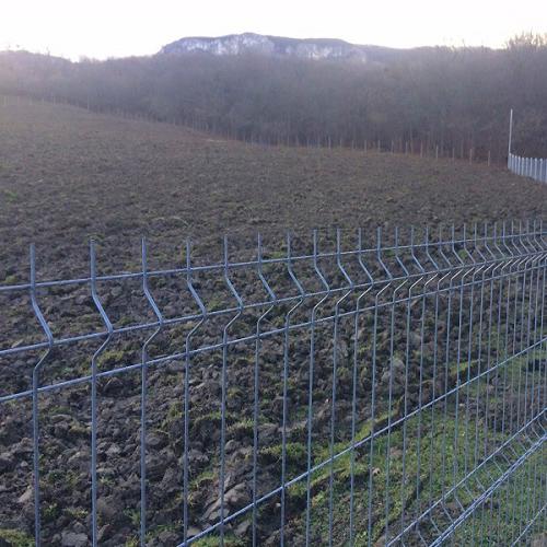 металлический забор секционный www.3d-perimetr.ru