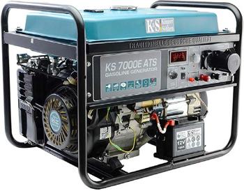 Бензиновая электростанция 5 кВт Könner&Söhnen KS 7000E ATS открытого типа