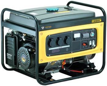 Генератор бензиновый 5 кВт KIPOR KGE6500X открытого типа