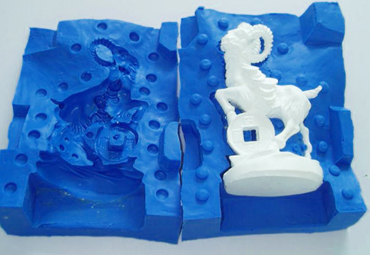 Вакуумное литье в силиконовые формы