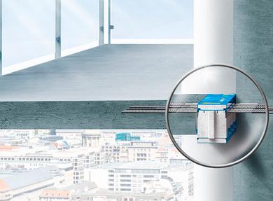 Теплоизоляция стальных конструкций с помощю современных решений Schoeck Isokorb