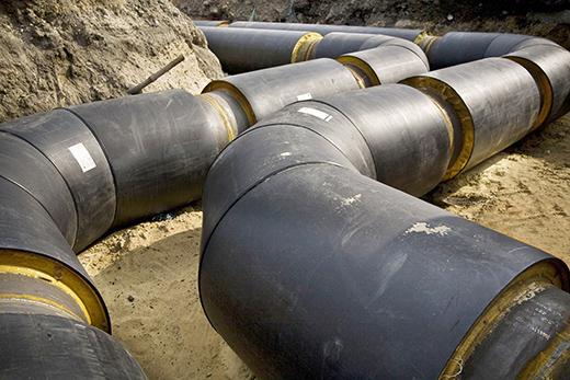 Теплогидроизоляция магистральных газо- и нефтепроводов и теплотрасс