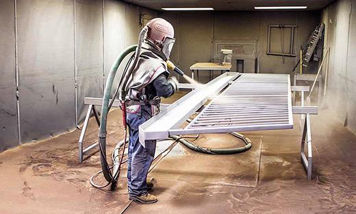 пескоструйный аппарат для металла