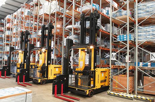 Распространенное складское оборудование
