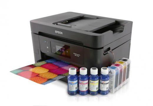 СНПЧ для струйного принтера МФУ Epson WorkForce Pro WF-3720DWF