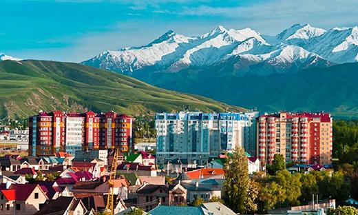 Новостройки Кыргыстана