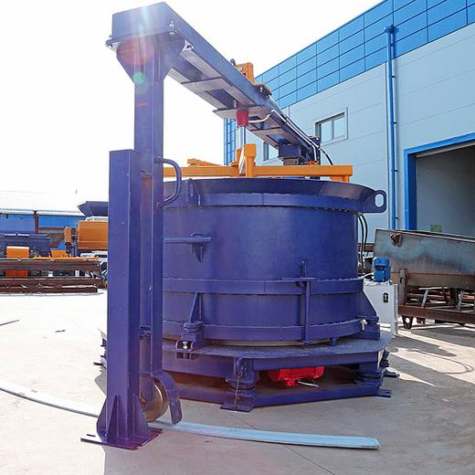 Оборудование для производства бетонных колец