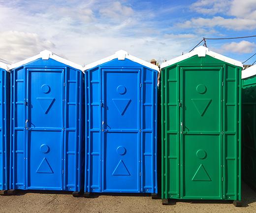 туалетные кабины из пластика
