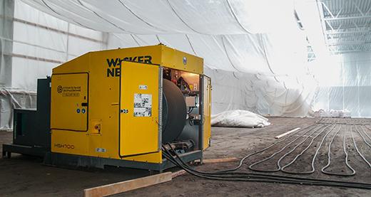 оборудование для прогрева бетона