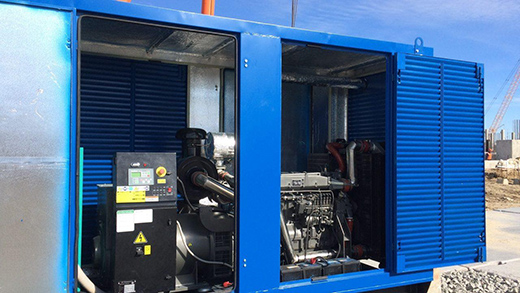 блок-контейнер для дизельного генератора