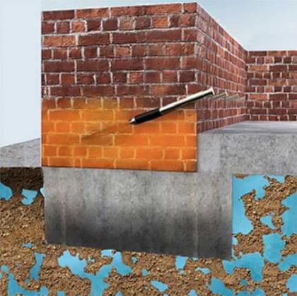 гидроизоляции кирпичной кладки
