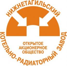 """Логотип компании ОАО """"Нижнетагильский Котельно Радиаторный Завод"""""""